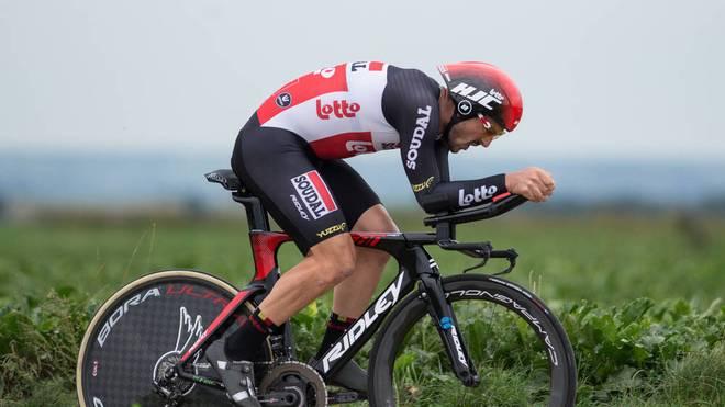 John Degenkolb hat seinen zweiten Sieg beim Rad-Klassiker Gent-Wevelgem knapp verpasst