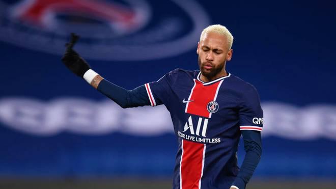 Neymar spielt seit 2017 für Paris Saint-Germain