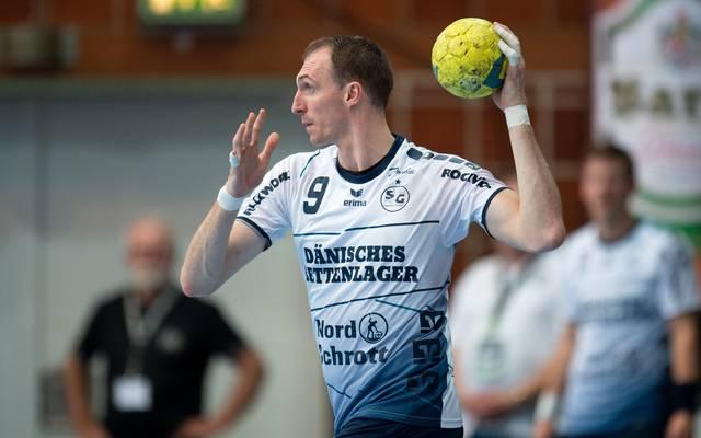 Holger Glandorf und die Flensburger mussten sich geschlagen geben