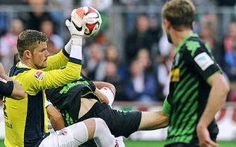 Timo Horn ist auf Rekordjagd. Der Torhüter des 1. FC Köln hält in seinen ersten vier Bundesligaspielen seinen Kasten sauber - das hat vor ihm noch kein Keeper geschafft. Bis zum Minutenrekord in der Bundesliga hat Horn aber noch ein gutes Stück