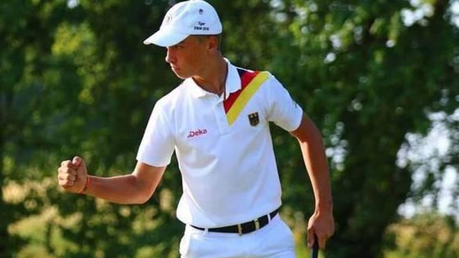 Tiger Christensen spielte eine starke zweite Runde