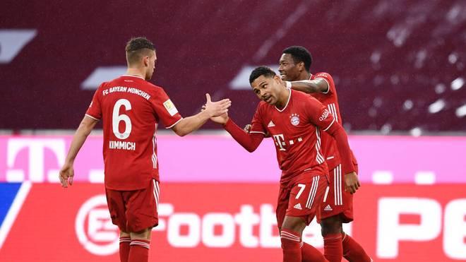 Der FC Bayern greift nach seinem 6. Titel innerhalb eines Jahres
