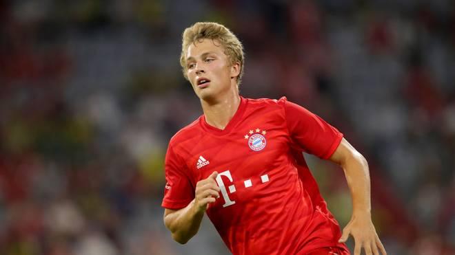 Fiete Arp kam im vergangenen Sommer zum FC Bayern