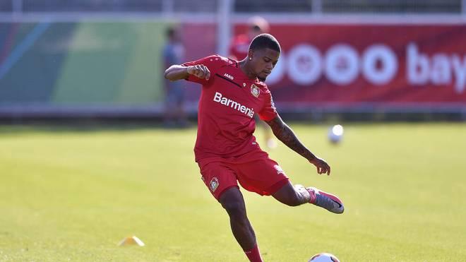 Leon Bailey ist wieder im Training von Bayer Leverkusen