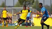 Youssoufa Moukoko erzielt sein zehntes Tor in der U19-Bundesliga