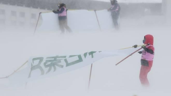 Der Männer-Slalom in Naeba wurde abgesagt