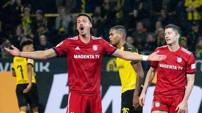 Sandro Wagner spielte beim FC Bayern als Back-up für Robert Lewandowksi