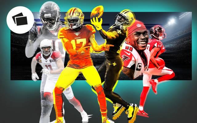 Die besten Receiver-Duos der NFL im Ranking