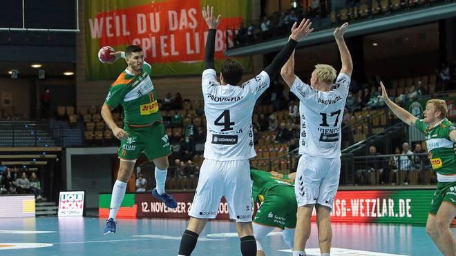 HSG Wetzlar gewinnt überraschend gegen THW Kiel
