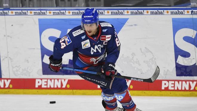 Andrew Desjardins spielt seit 2017 für die Adler Mannheim