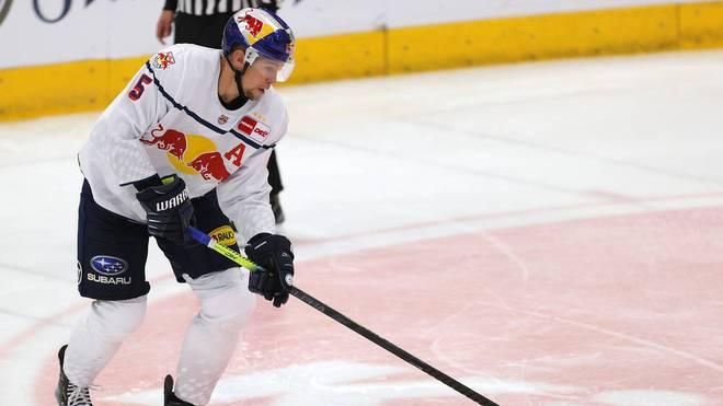 Keith Aulie traf in der Verlängerung für den EHC Red Bull München
