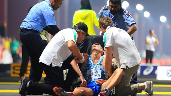 Erschöpfte Athleten brechen bei der WM in Doha reihenweise zusammen