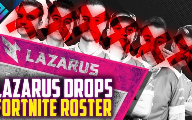 Lazarus Esports entlässt sämtliche Fortnite-Spieler.