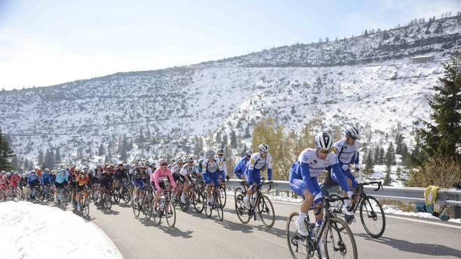 Der Giro d'Italia verzeichnet den nächsten Corona-Fall