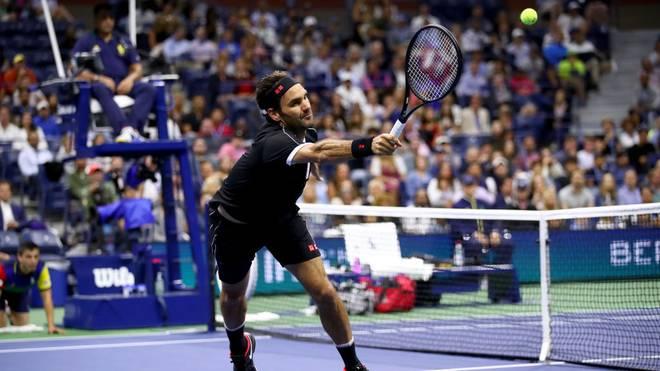 Roger Federer trifft in der zweiten Runde der US Open auf einen Bosnier