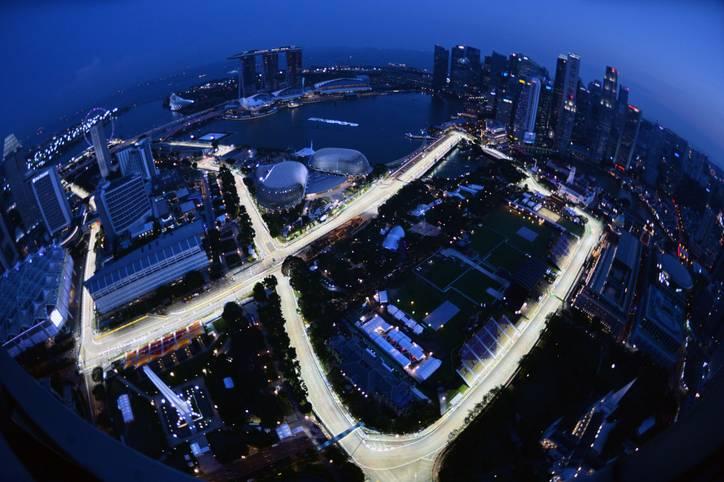 Der große Preis von Singapur steht an. SPORT1 zeigt die Bilder des Nachtrennens
