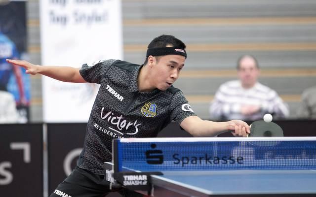 Shang Kun führt Saarbrücken mit zwei Siegen zum Meistertitel