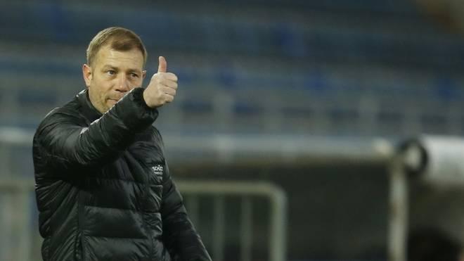 Bielefelds Trainer Frank Kramer erklärt das Wechsel-Wirrwarr