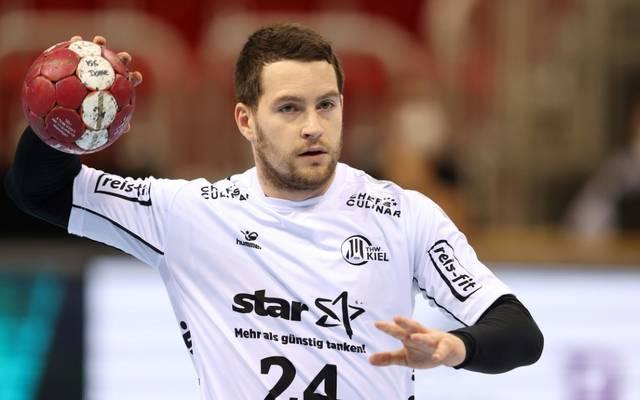 Miha Zarabec erzielte gegen Barcelona fünf Tore für den THW Kiel