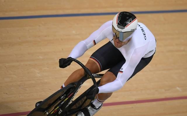 Maximilian Levy sprintet in Plowdiw um EM-Gold