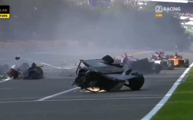 Formel 2, Crash