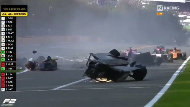 Formel 2, Crash