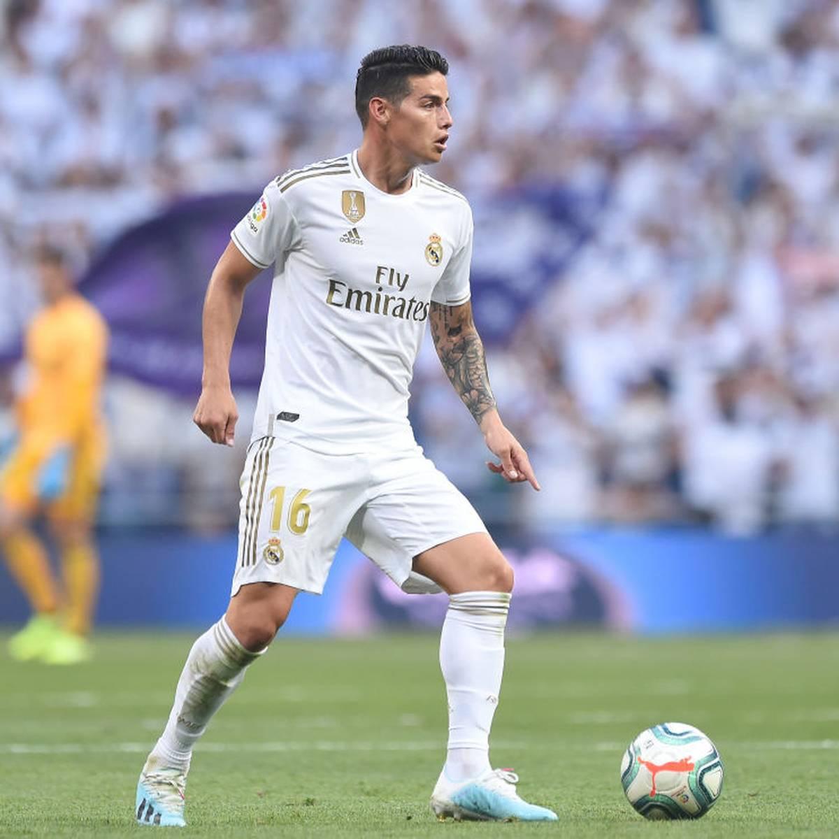 Real Madrid vorerst ohne James