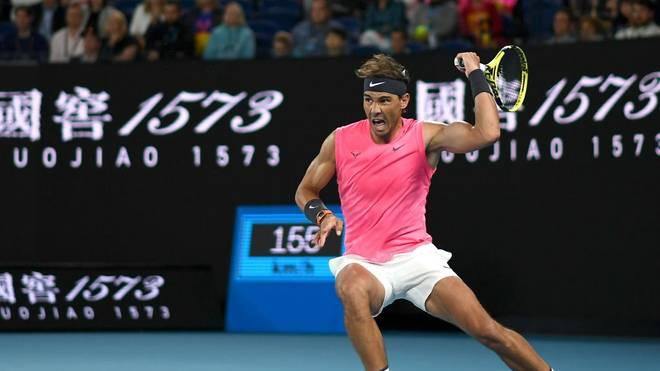 Rafael Nadal zieht in die nächste Runde ein