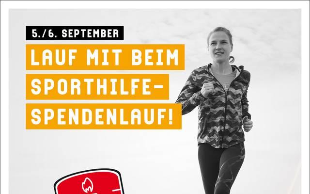 Die Deutsche Sporthilfe ruft zum Spendenlauf auf