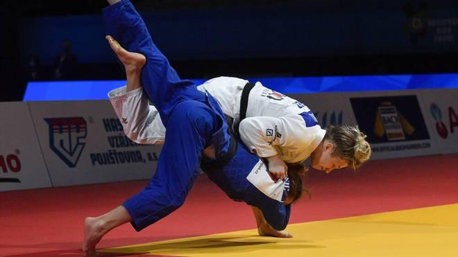 Theresa Stoll sicherte sich Gold bei der Judo-WM