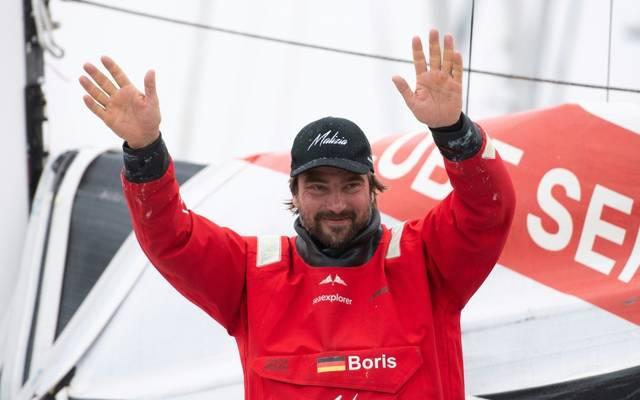 Herrmann debütierte bei der diesjährigen Vendee Globe