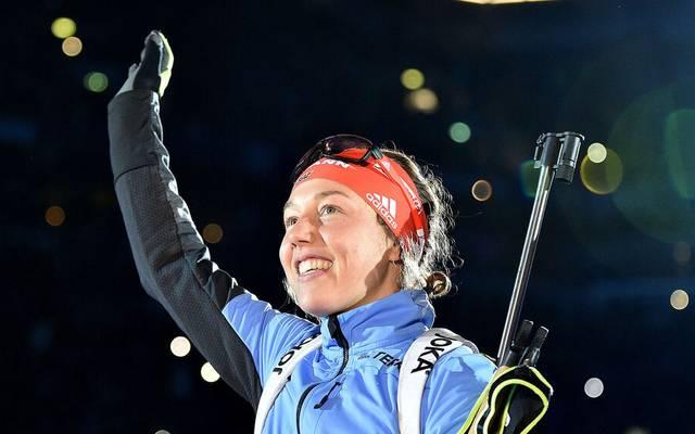 Laura Dahlmeier könnte künftig eine neue Rolle im deutschen Biathlon einnehmen