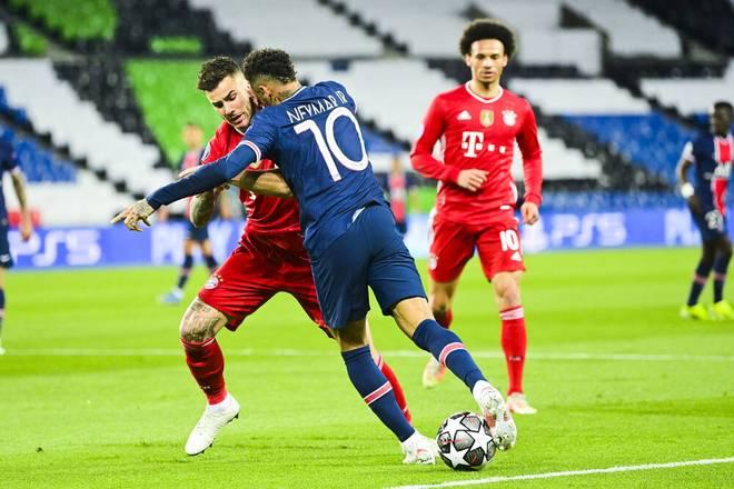 Neymar zaubert gegen Lucas Hernández