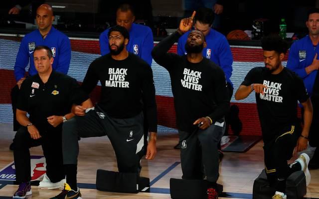 Auch LeBron James gedachte einmal mehr des verstorbenen Kobe Bryant