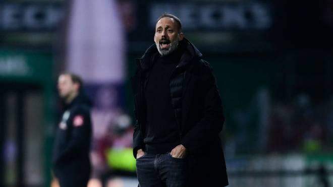 VfB-Coach Pellegrino Matarazzo warnt seine Mannschaft vor dem Duell gegen Union Berlin