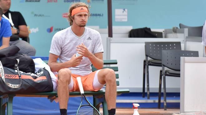 Alexander Zverev hatte an der umstrittenen Adria-Tour teilgenommen