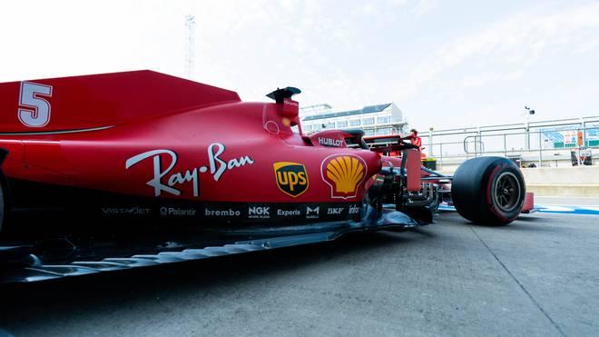 Der Ferrari von Sebastian Vettel bekommt ein neues Chassis