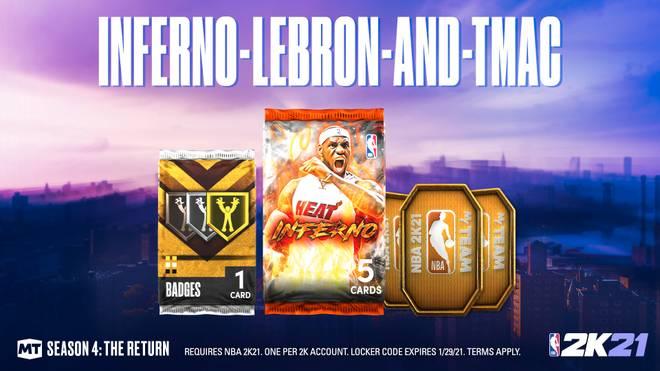 Im neuen Inferno-Pack ist LeBron James der Hauptpreis