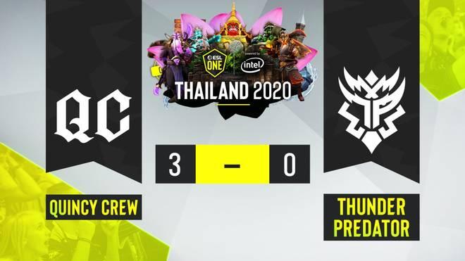 Quincy Crew triumphieren in der amerikanischen Liga des ESL One Thailand und etablieren sich als zweitbestes amerikanisches Team hinter EG.
