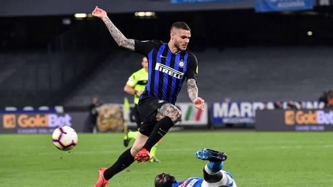 Mauro Icardi spielt seit 2013 bei Inter Mailand