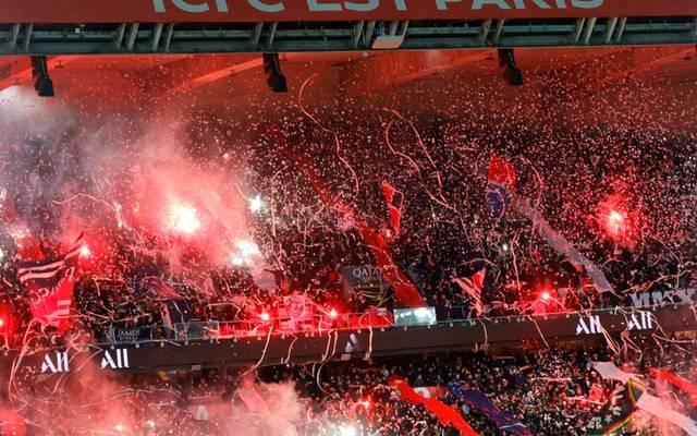 Fans von Paris Saint-Germain wollten mit Pyrotechnik nach Deutschland einreisen