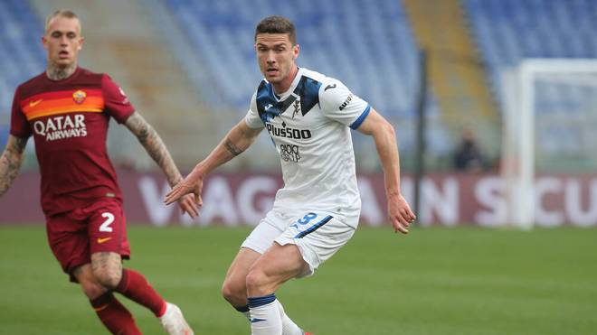Robin Gosens flog im Spiel bei AS Rom vom Platz