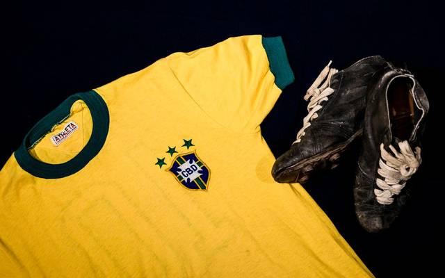 Das Pelé-Trikot brachte 30.000 Euro ein
