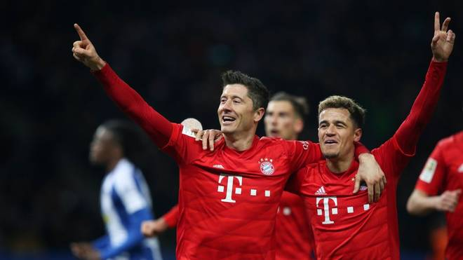 Bayern siegt mühelos bei Hertha