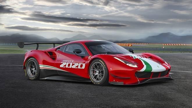Ferrari stellt den 488 GT3 Evo 2020 vor