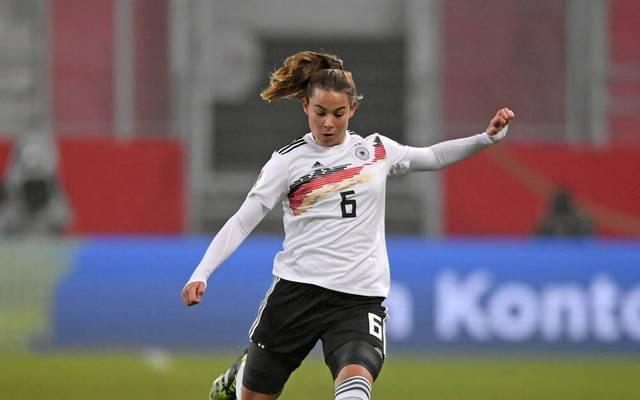 Lena Oberdorf hat in 16 Länderspielen zwei Tore erzielt