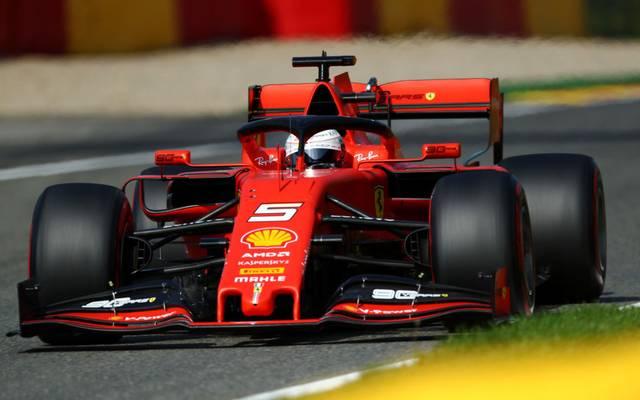 Sebastian Vettel wird als Zweiter ins Rennen gehen