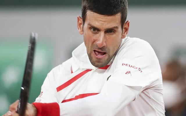 Novak Djokovic trifft in Runde zwei bei den French Open nun auf Ricardas Berankis