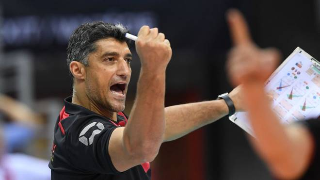 Andrea Giani ist Trainer der deutschen Volleyball-Nationalmannschaft