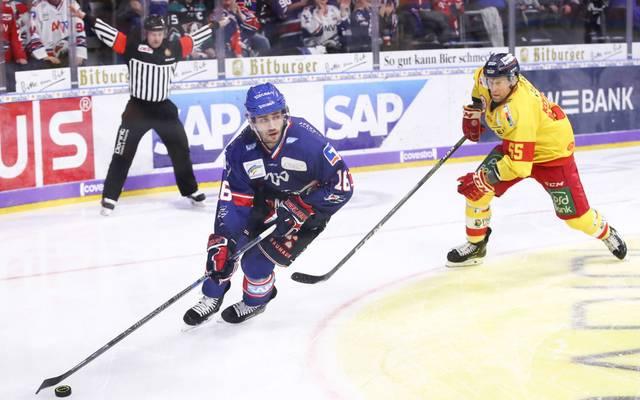 Adler Mannheim muss mehrere Monate auf Markus Eisenschmid verzichten.